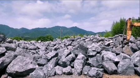 黑山石枯山水景园林景观石,欢迎来基地考察旅游!