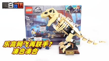【黑白砖访】★乐高LEGO★白垩纪夏令营76940霸王龙化石
