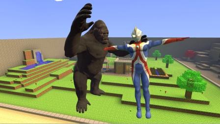 大猩猩抓住了高斯奥特曼,还在打他怎么办?