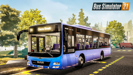 巴士模拟21 天使海岸 #10:疯狂的游客在我前往格林伍德的路上添堵 | Bus Simulator 21