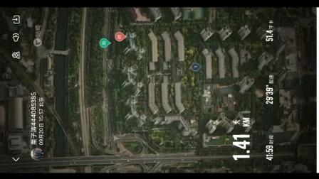 喜欢咕咚轨迹图,9月20日打卡1.54公里1.41公里