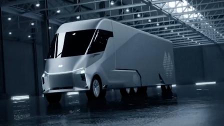百度造电动卡车,可实现自动驾驶,比轿车还酷炫