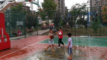 2021.9.20在体育馆打篮球