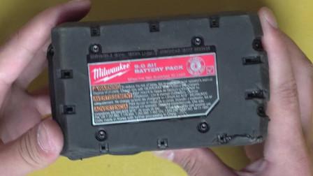 米沃奇M18V21700锂电池放几天竟然不能用了 电池难道太坑了吗 还是遇上假货了