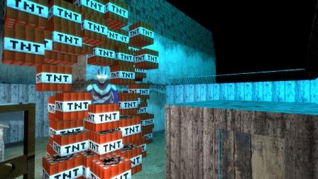 迪迦奥特曼被怪兽用TNT困在密室怎么办?