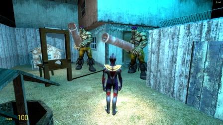 欧布在密室门口发现有人拿着大炮怎么办?