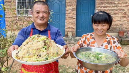 """地道莆田特色菜""""炒米粉"""",据说中秋节家家户户都吃这道菜!"""