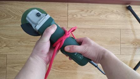 拖车锁点定位捆绑,这些绳结够用了,方方面面都能用到