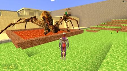 迪迦奥特曼发现蜘蛛在池子里喝岩浆怎么办?