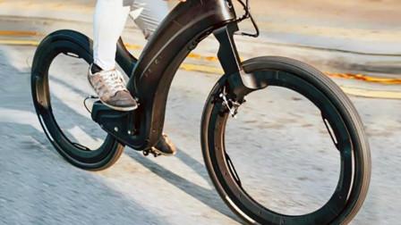 无辐条的自行车,偷车贼偷不走,13000元你买吗
