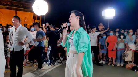 唐艺翻唱一首网络红歌《你莫走》唱的真心好听!