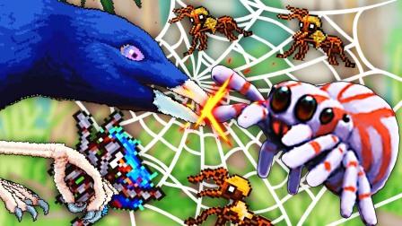 模拟小蜘蛛 我把男票喂给大鸟,骑着蚂蚁去抓蛆吃!小熙解说