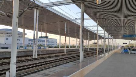 G7766/7763停靠宿州东站3站台复兴号CR400AF-2222*2021/09/21-17:43:14