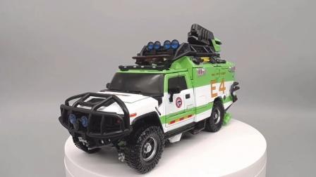 这回轮闭姥爷狂喜,变形金刚MPM电影KO版JH01绿色救护车