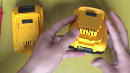 得伟18V锂电池放了一个月不能用了 难道就这样报废了吗 不要急 我来教你办法弄好它