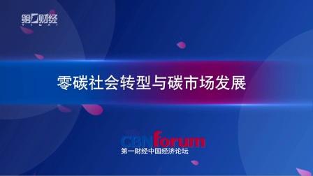 《中国经济论坛》零碳社会转型与碳市场发展