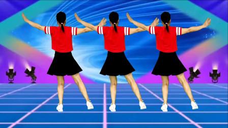 广场舞《信天游》简单易学,初学者也会的舞蹈