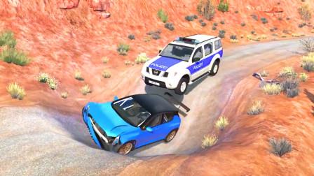 车祸模拟器: 路上出现了一个大坑给村民的出行造成了巨大的影响
