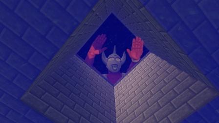 泰罗奥特曼趴在水井里,是发现怪兽了吗?