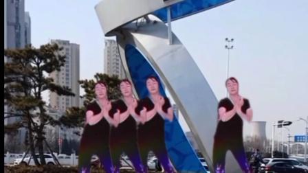 北方潇洒姐妹广场舞巜陪你千山万水》