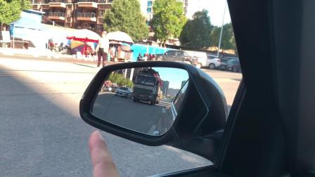 新手害怕超车变道,老司机实录详解,看完不吃亏