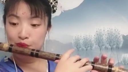 仙女姐姐笛子演奏西游记《天府乐》