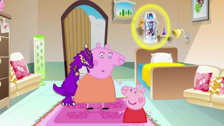 动画剧场:猪妈妈的身上怎么趴着一只怪兽?这是怎么回事?