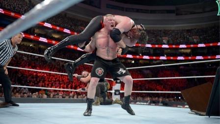 三大重量级选手开战,猛兽布洛克发飙,黑羊被压解说台下!