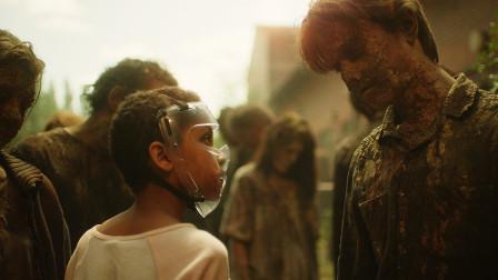 末世丧尸感染进入第二阶段,从脑中发芽人类全部灭绝,速看另类丧尸片