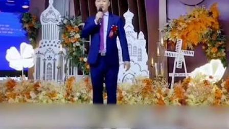 警察新郎开讲,婚礼现场秒变反诈宣传大会!网友:敬业福送你!