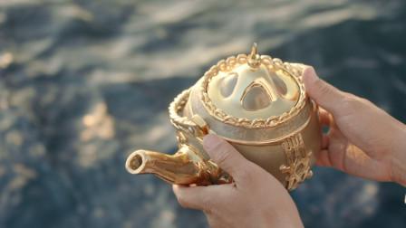 眼前的这个茶壶,只要主人受到伤害,他就会吐出美钞《黄铜茶壶》