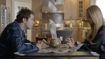 只要说出让对方伤心的话,茶壶就会吐出美钞,尺度越大美钞就越多