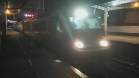 HXD1D0010武局南段Z123广州-成都晚点4分进南充站21:23 20210925