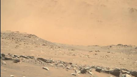 有2张火星图,看看都拍到了什么?