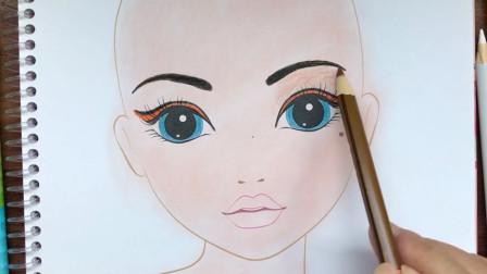 咦?这位可爱小女孩,要如何化妆?才能变得更美呢?