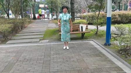 (63)广场舞《牧人恋歌》篮球公园。徐淡吟老师🌹🌴💄💐