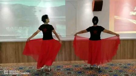 演出新疆舞