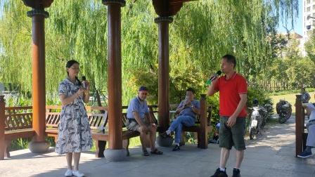 2021年9月26日,西塘公园《越剧》楼台会[下集]],海燕~小罗演唱,甬闻录制。