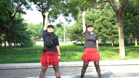 火爆网红广场舞《伤心的酒吧》歌好听,舞步简单易学