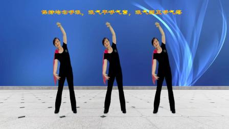 零基础健身操,适合中老年健身,动作简单易学,提高体能