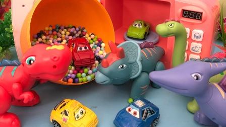 可爱的小恐龙们和神奇微波炉