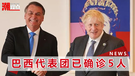 """""""带毒""""进联合国?巴西官员确认感染新冠,曾与英国首相会谈"""