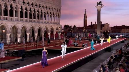 杜嘉班纳2021全新女装高级定制系列完整回顾