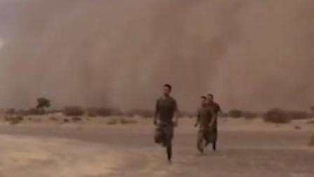 顶住沙尘暴!这个炮兵营在西北大漠打出了气势