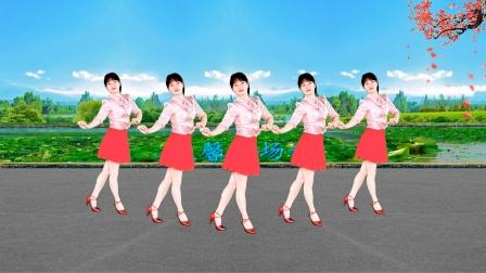 健身舞《红马鞍》节奏欢快,动作简单时尚,送给你