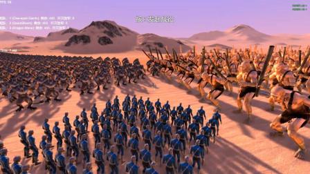 X战警快银、独眼巨人和龙人战士各400个混战,最后谁能赢?