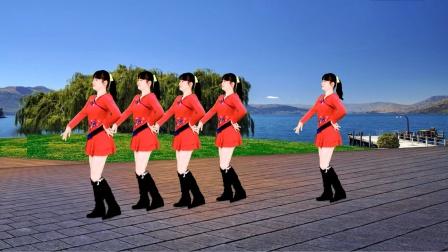 益馨广场舞《小花》原创柔美健身舞 完整正反面教学版