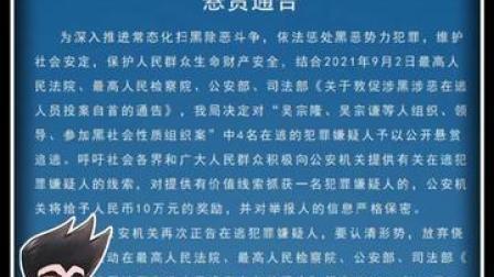 海南省海口市公安局悬赏40万元对四名涉黑人员公开悬赏追逃。#安哥说法