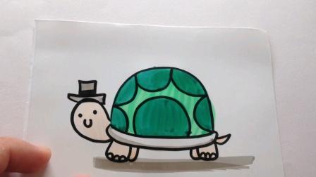 简笔画.小乌龟