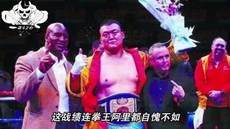中国张君龙21战21胜21次KO,来一个打一个,对手没一个站